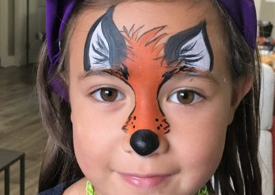Fox facepaint