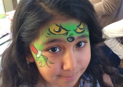 Grinch Facepaint