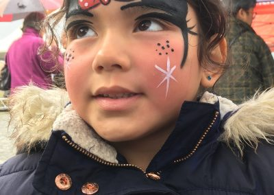 Mini Mouse Facepaint