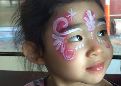 Princess Crown facepaint