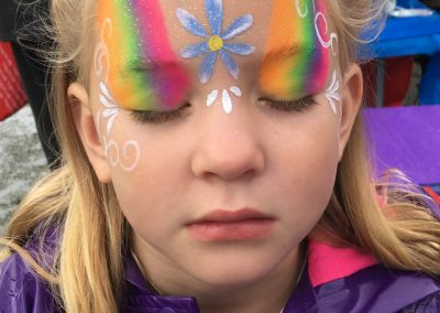 Rainbow Princess Facepaint